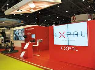 EXPAL stand DSEI11