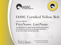 ICIL repite en 2016 las certificaciones Lean Six Sigma Yellow Belt